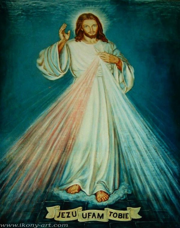 The Image of The Divine Mercy. Jesus, I Trust in You.