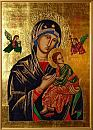 Our Lady of Perpetual Help copy of the icon from the church of St. Alphonsus Liguori in Rome