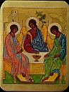 The Old Testament Trinity The Holy Trinity Andrei Rublev copy of the icon XV century