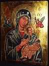 Our Lady of Perpetual Help. Copy of Roman icon, the church of Saint Alphonsus Liguori.