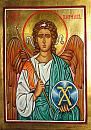 The icon of The Archangel Raphael