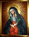 Mother of Mercy, Our Lady of the Gate of Dawn, Queen of the Polish Crown, copy of the icon XVII century