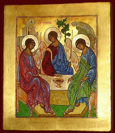 Icon The Holy Trinity - Rublev