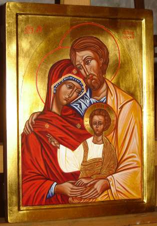 Icon The Holy Family